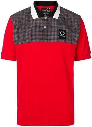 Fred Perry oversized polo shirt
