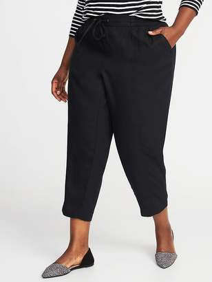 Old Navy Mid-Rise Plus-Size Soft Utility Pants