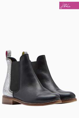 Next Girls Joules Black Leather Chelsea Boot