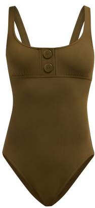 Eres Pop Tank Swimsuit - Womens - Khaki