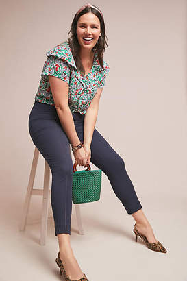 Anthropologie Essentials by The Essential Pintucked Skinny Pants