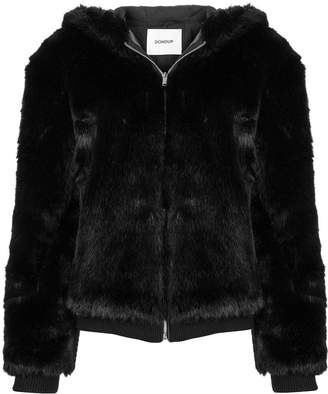 Dondup faux fur hooded jacket