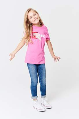 Next Girls Diesel Kids Mid Wash Skinzee Jean