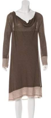 Donna Karan Wool Shift Dress