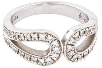 Di Modolo 18K Diamond Double Loop Ring