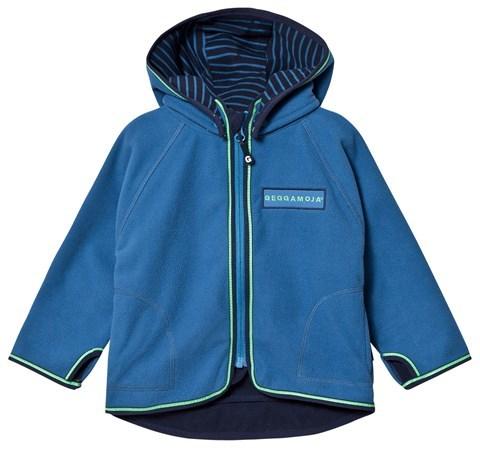 Geggamoja Blue Fleece Jacket
