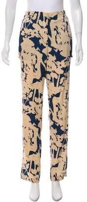 3.1 Phillip Lim Silk Mid-Rise Pants