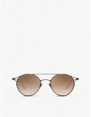 Linda Farrow LFL804 round-frame sunglasses