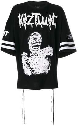 Kokon To Zai Zombie embroidery T-shirt