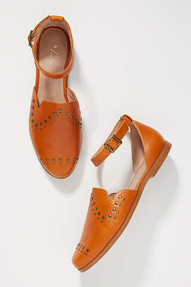 Anthropologie Studded City Flats