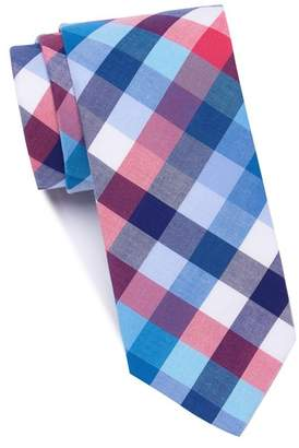Original Penguin Weiske Plaid Skinny Tie