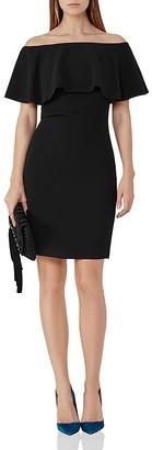 REISS Balm Off-the-Shoulder Dress $330 thestylecure.com