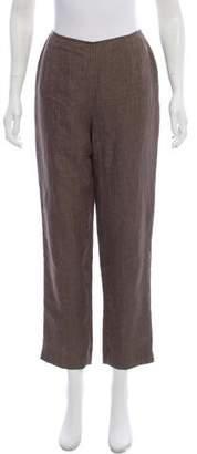 Lafayette 148 Mid-Rise Linen Pant