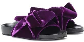 N°21 Velvet knot slides