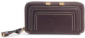 Chloé Marcie Leather Zip-Around Wallet