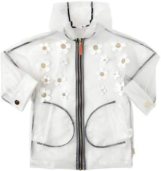 Little Marc Jacobs Pvc Rain Coat W/ Daisies