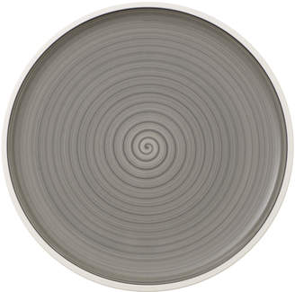 Villeroy & Boch Manufacture gris Pizza/Buffet Plate 12.5 in