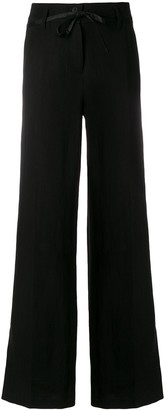 Ann Demeulemeester high waisted wide trousers