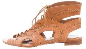 Joie Cage Lace-Up Sandals