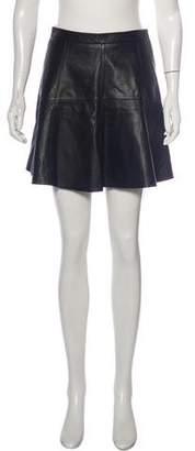Rebecca Minkoff Lambskin Mini Skirt