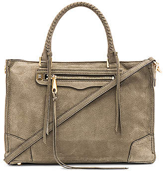 Rebecca Minkoff Regan Satchel in Olive. $345 thestylecure.com