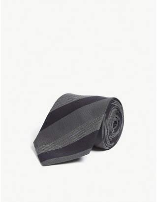 Lanvin Multi-stripe silk tie