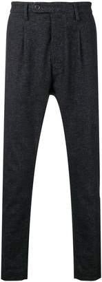 Al Duca D'Aosta 1902 melange knit trousers