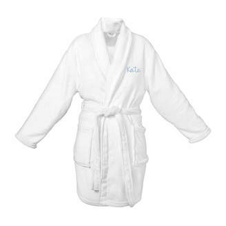 Cathy's Concepts CATHYS CONCEPTS Personalized Plush Fleece Robe
