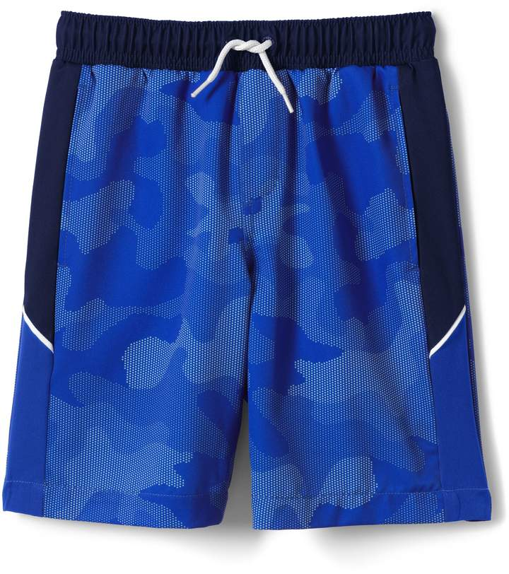 Lands'end Boys Active Swim Trunks