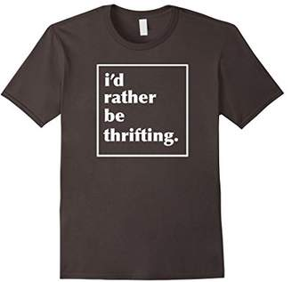 I'd Rather Be Thrifting Yard Sale Vintage Tee T Tshirt Shirt