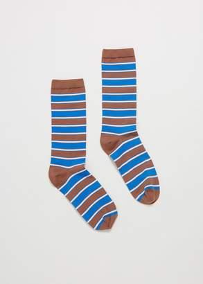 Ganni Stripe Ankle Sock