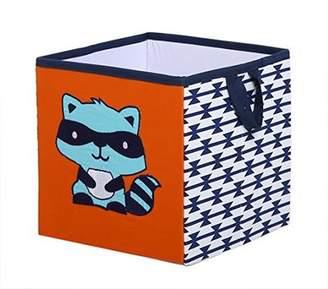 Bacati Liam Aztec Fox Cotton Cube