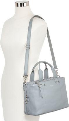 PERLINA Perlina Ellen Box Leather Satchel Bag $106.80 thestylecure.com