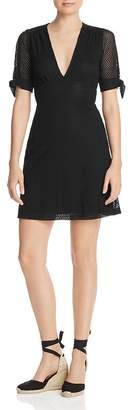 Nightcap Clothing Mesh-Lace Mini Dress