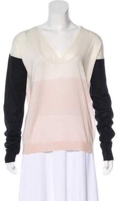 Joseph Cashmere Colorblock Sweater