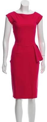 Chiara Boni Short Sleeve Midi Dress