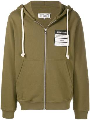 Maison Margiela Stereotype zipped hoodie