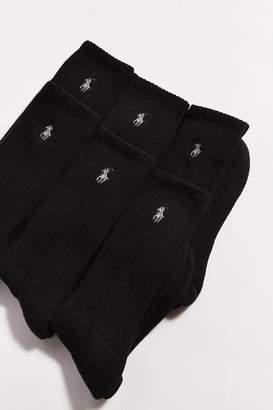 Polo Ralph Lauren 6-Pack Athletic Crew Sock