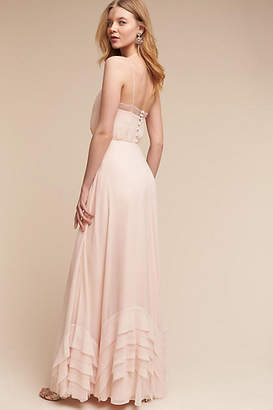 Anthropologie Dove Wedding Guest Dress