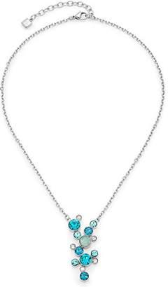 Leonardo Jewels Women necklace with pendant Oceano stainless steel glass multicolored 6.4 cm - 016226
