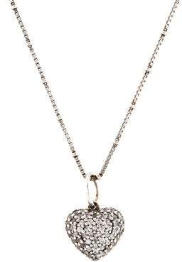 Links of London Sapphire Heart Pendant Necklace