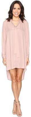Brigitte Bailey Kali Shirtdress with Back Button Detail Women's Dress
