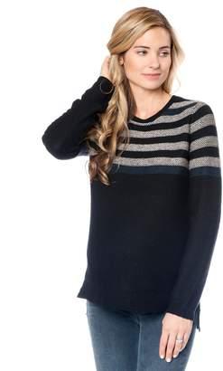 BCBGMAXAZRIA Striped Maternity Sweater