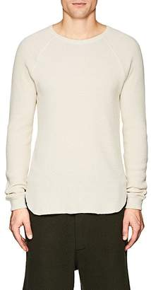 Eidos Men's Thermal-Knit Cotton Shirt
