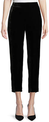 Eileen Fisher Velvet Ankle Trousers, Plus Size
