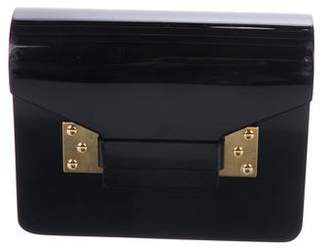 Sophie Hulme Resin Chain-Lin Shoulder Bag