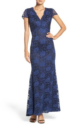 Women's Ellen Tracy Lace Gown $218 thestylecure.com