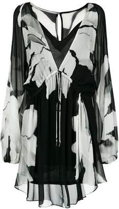 OSKLEN Flower Torn dress