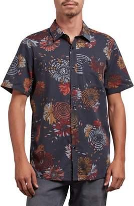 Volcom Stoney Delusion Short Sleeve Woven Shirt