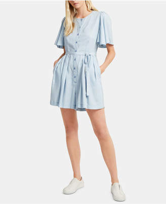 French Connection Julienne Belted Romper